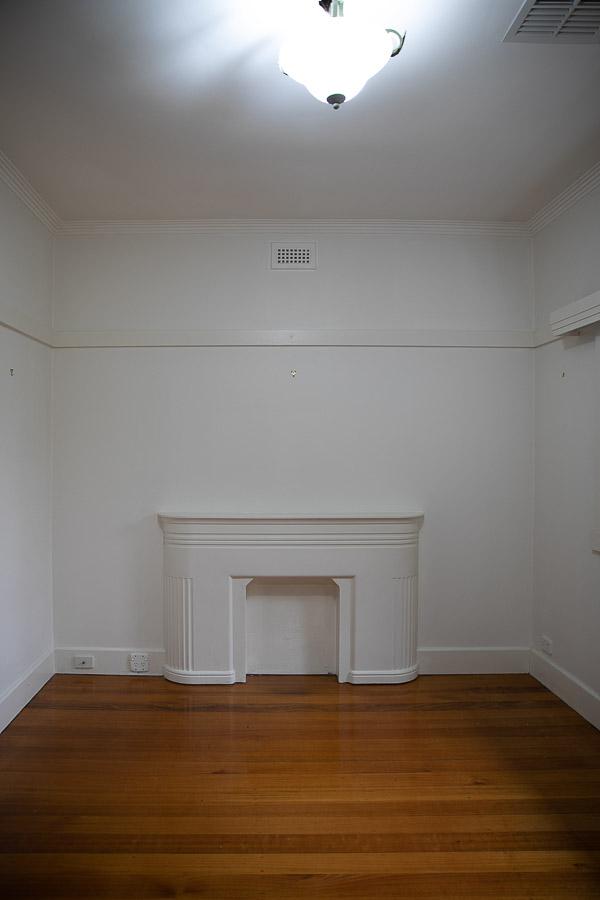 Empty sitting room